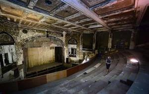 Carolina Theater Renovation Side