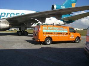 Disater Restoration Emergency Arrival